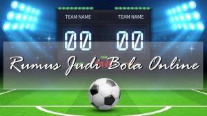 Triik dan Tips Rumus Judi Bola Online